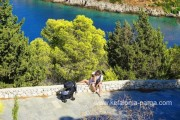Kefalonia reviews. Ionian island Kefalonia. Greece vacations.