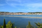 Argostoli panorama, Drapanos bridge