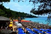 Пляжи Makris Gialos