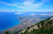 Вид с горы Энос