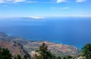 Вид с горы Энос, остров Кефалония, Греция