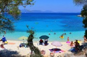 Пляж Emblisi , Кефалония , Греция