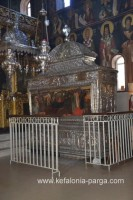 Monastery of Saint Gerasimos (sarcophagus with the relics)