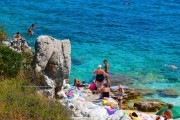 Beaches near Agia Efimia, Kefalonia, Greece