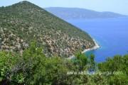 Неподалеку от пляжа Антисамос