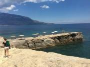 Kefalonia beaches: Ema beach at Liakas Cape. Greece vacations