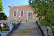 Gravaliotisa Church in Pastra, Kefalonia, Greece (miracle with lilies)