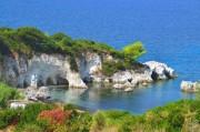 Пляж Kalamia , Кефалония , Греция