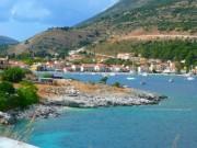 На въезде в Агию Ефимию