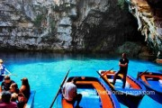 Undeground Melissani lake