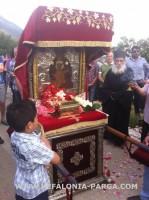 Крестный ход от монастыря Сиссия