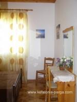 Отели Кефалонии: апартаменты с 2 спальнями, прекрасный вид на море. Домик с 2 спальнями. Спартья