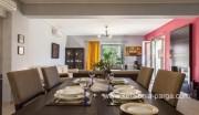 Kefalonija viešbučiai: 3 miegamūjų vila su baseinu Pessada miestelyje. Poilsis Grakijoje.