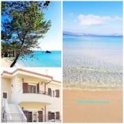 Отели Кефалонии: Ласси апартаменты с 1 спальней у моряю Пляж Макрис Гиялос.