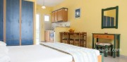 Kefalonia hotels: studios by the sea in Lourdata.Lourdas Kefalonia.Greece travel. Lourdas beach..