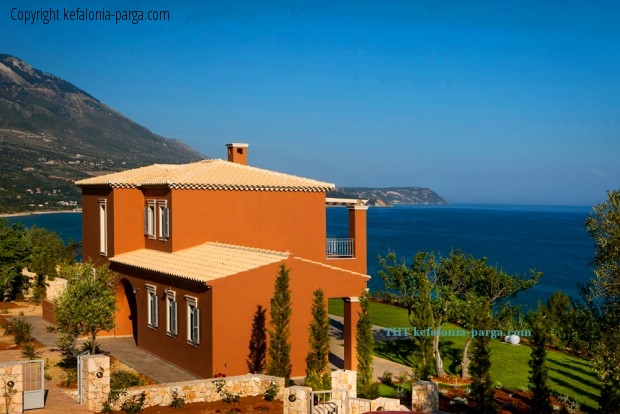 Villa with 3 bedrooms, private swimming pool and stunning sea view, Trapezaki, Kefalonia