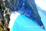 Морской крутз на яхте по Ионическому морю. Отели Кефалонии. Пляж Миртос. Греция отдых.
