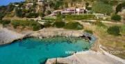 Kefalonija vilos. 4 miegamųjų vila, Agios Tomas paplūdimys