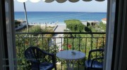 Kefalonia hotels: apartments, studios by the sea in Lourdata.Lourdas Kefalonia.Greece travel. Ionian islands.