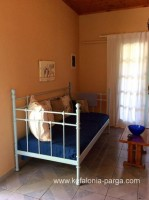 Kefalonia hotels: Spartia 2 bedroom bungalow by the beach. Bungalow Kefalonia. Greek vacations.
