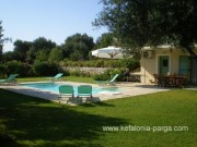 Kefalonia hotels: 3 bedroom villa with swimming pool in Karavados. Few hundred meters from Agios Thomas beach