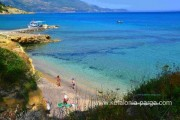Kefalonia hotels, Spartia: 3 bedroom villa with swimming pool in Spartia. Kefalonia villas. Spartia beach