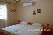 Отели Кефалонии: Спартья, коттеджи и апартаменты c 2 спальнями, 300 м от пляжа. Греция отдых.