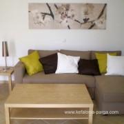 Отели Кефалонии: вилла 3 спальнями, бассейном у пляжа Агиос Томас