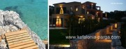 Kefalonia hotels, Skala: 4 bedroom villa with swimming pool by the sea. Kefalonia villas. Greece vacations.