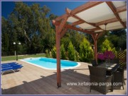 Kefalonia hotels, Sami: 2 bedroom villa with swimming pool by the sea. Kefalonia villas. Greece vacations.