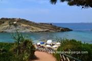 Отели Кефалонии: апартаменты с 3 спальнями в Ласси, пляж Makris Gialos. Греция отдых