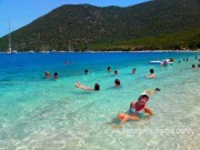 Keafalonia beaches: Antisamis beach,7 km from the villa