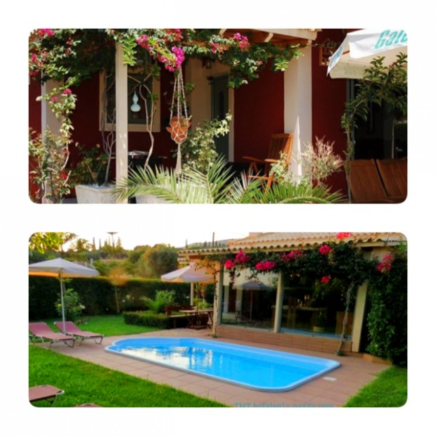 Kefalonia villas with pool: lovely 2 bedroom villa with swimming pool