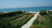 Kefalonia hotels: studios by the sea in Lourdata.Lourdas Kefalonia.Greece travel. Lourdas beach.