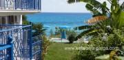 Кефалония апартаменты: отель у моря в Лурдате. Греция отдых. Кефалония отели.