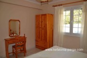 Kefalonia hotels: Spartia apartments, bungalows 300 m from the beach. Greece vacations.