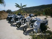 Rent a scooter on Kefalonia
