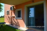 Kefalonia hotels: Skala, 2 bedroom apartments, swimming pool, sea view, bar. Greece vacations