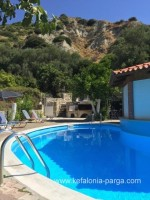 Kefalonia hotels. Lourdas beach apartments