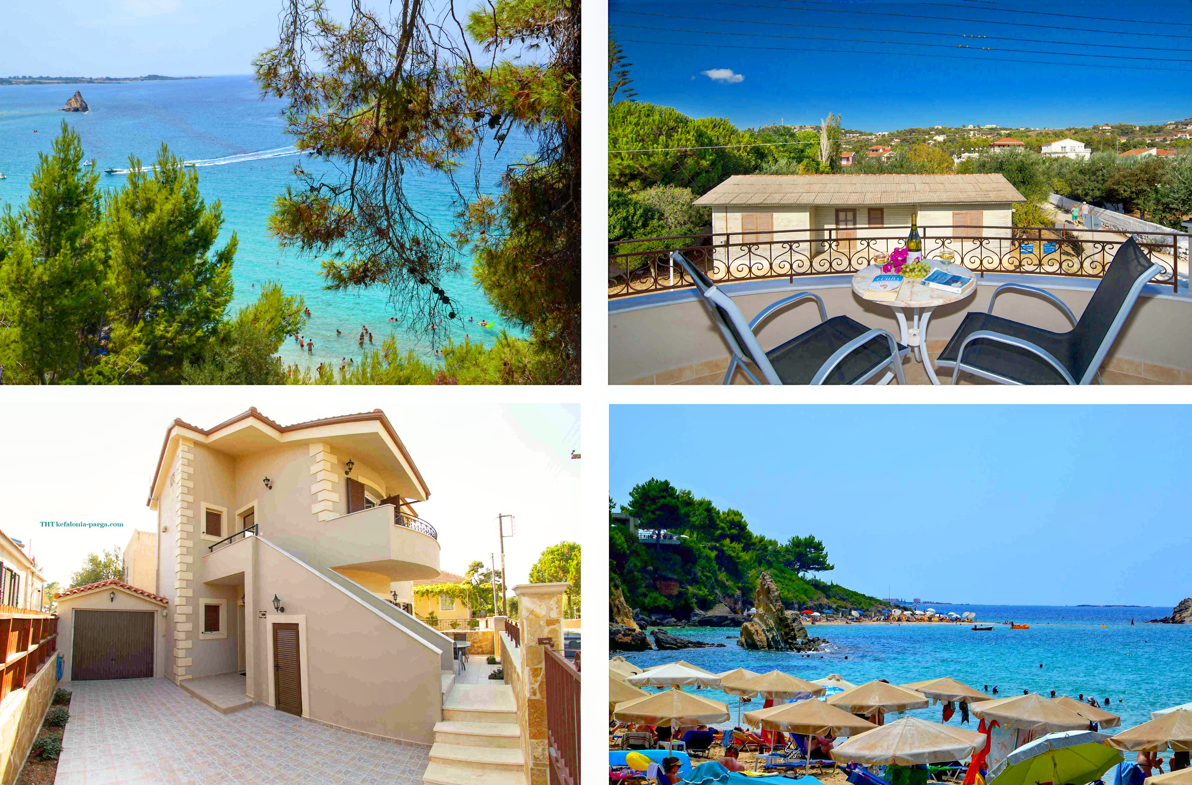 Kefalonia villas: cute 3 bedroom villa with swimming pool, Kefalonia, Greece. Kefalonia hotels.