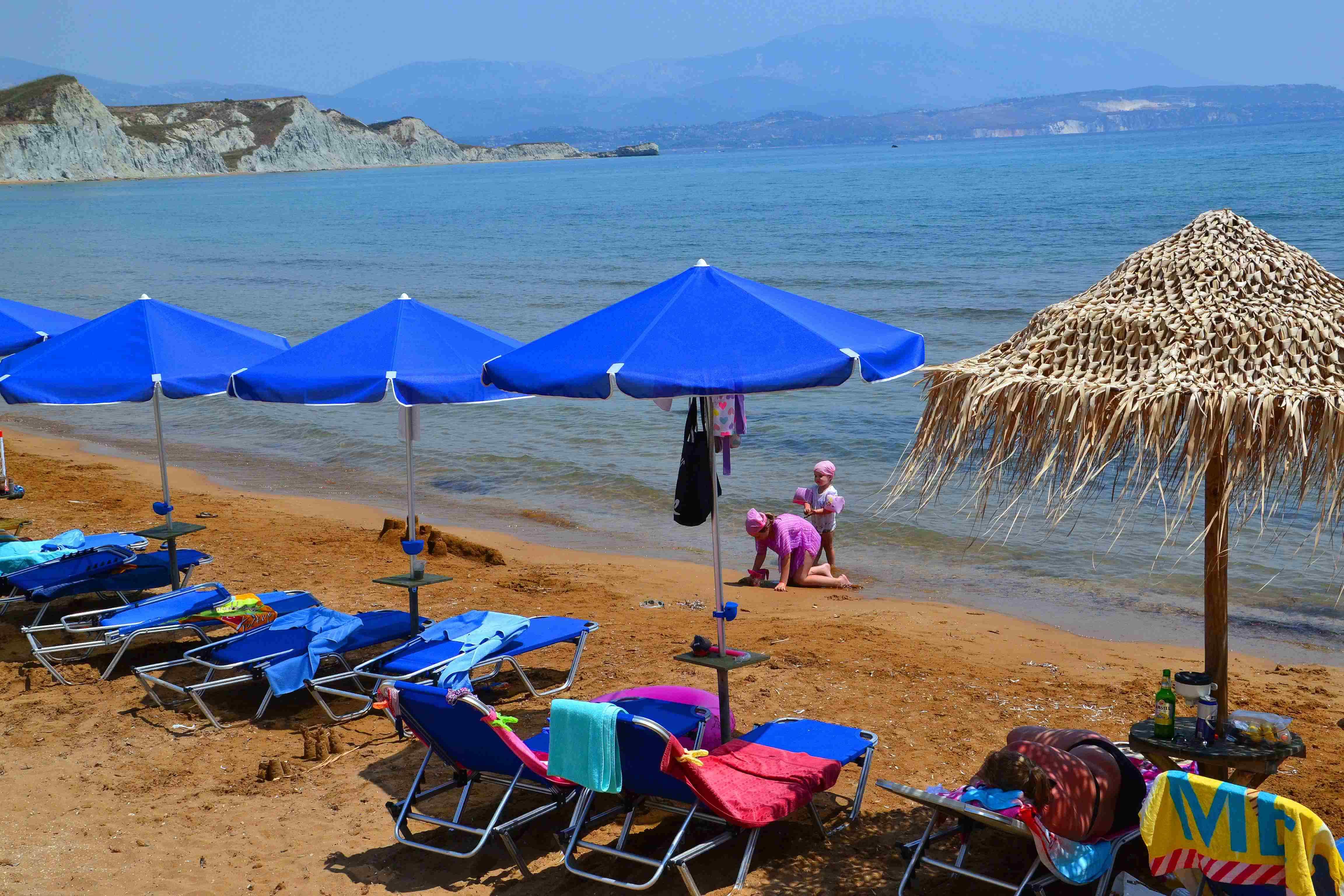 Пляж Кунопетра , Кефалония , Греция