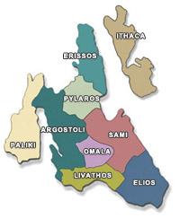 Карты Кефалонии