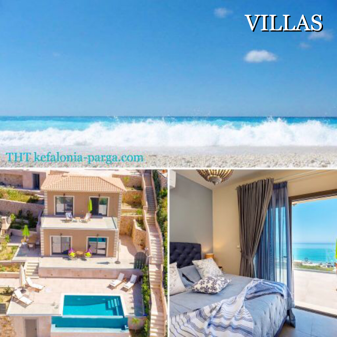 Kefalonia COVID-19 information. Villas ready to offer safe holidays 2020.