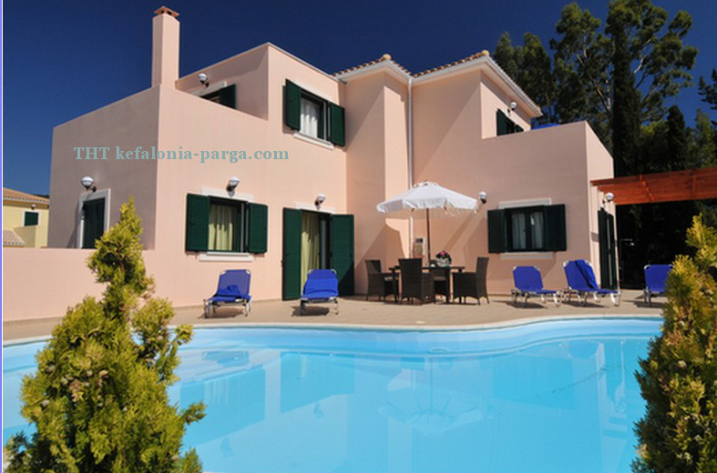 Kefalonia hotels: 3 bedroom villa with swimming pool by the sea, Sami. Greece vacations.