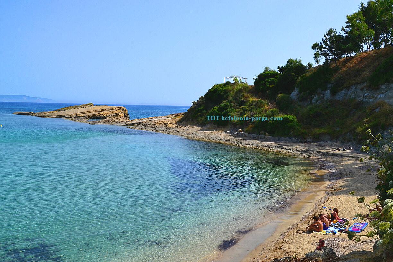 Пляж Трапезаки , Кефалония , Греция