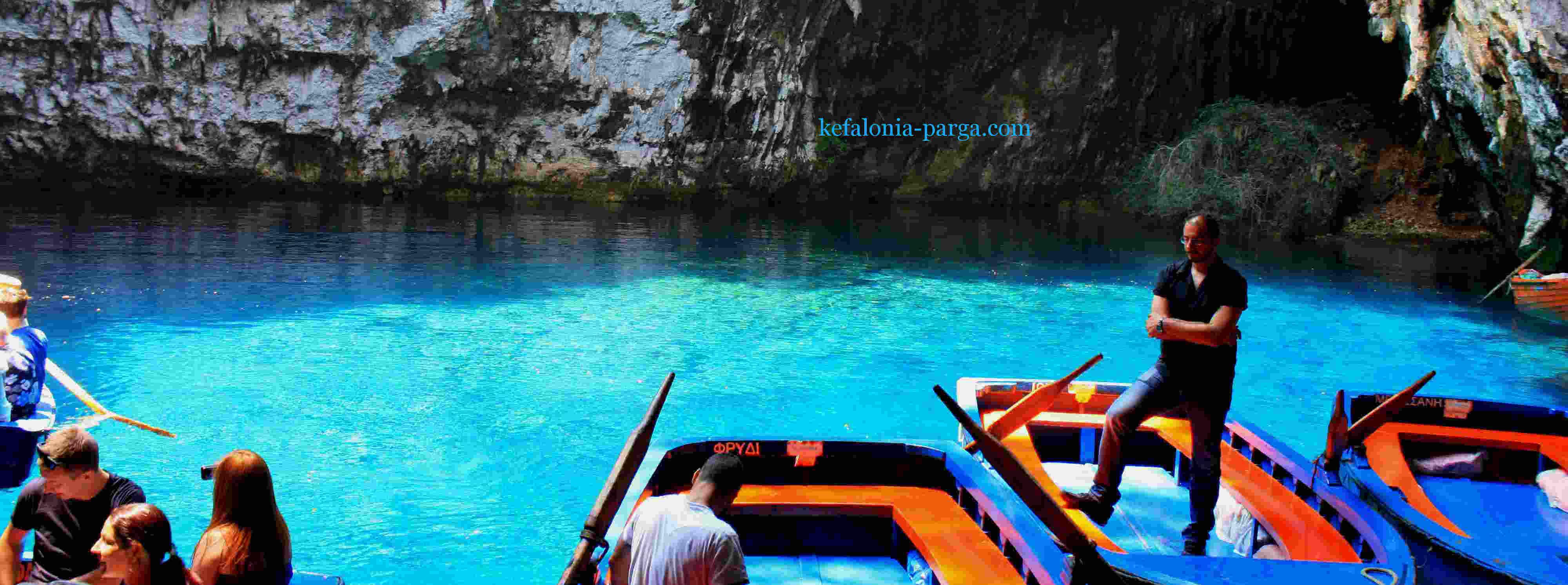 Достопримечательности Кефалонии: озеро Мелиссани. Греция отдых.