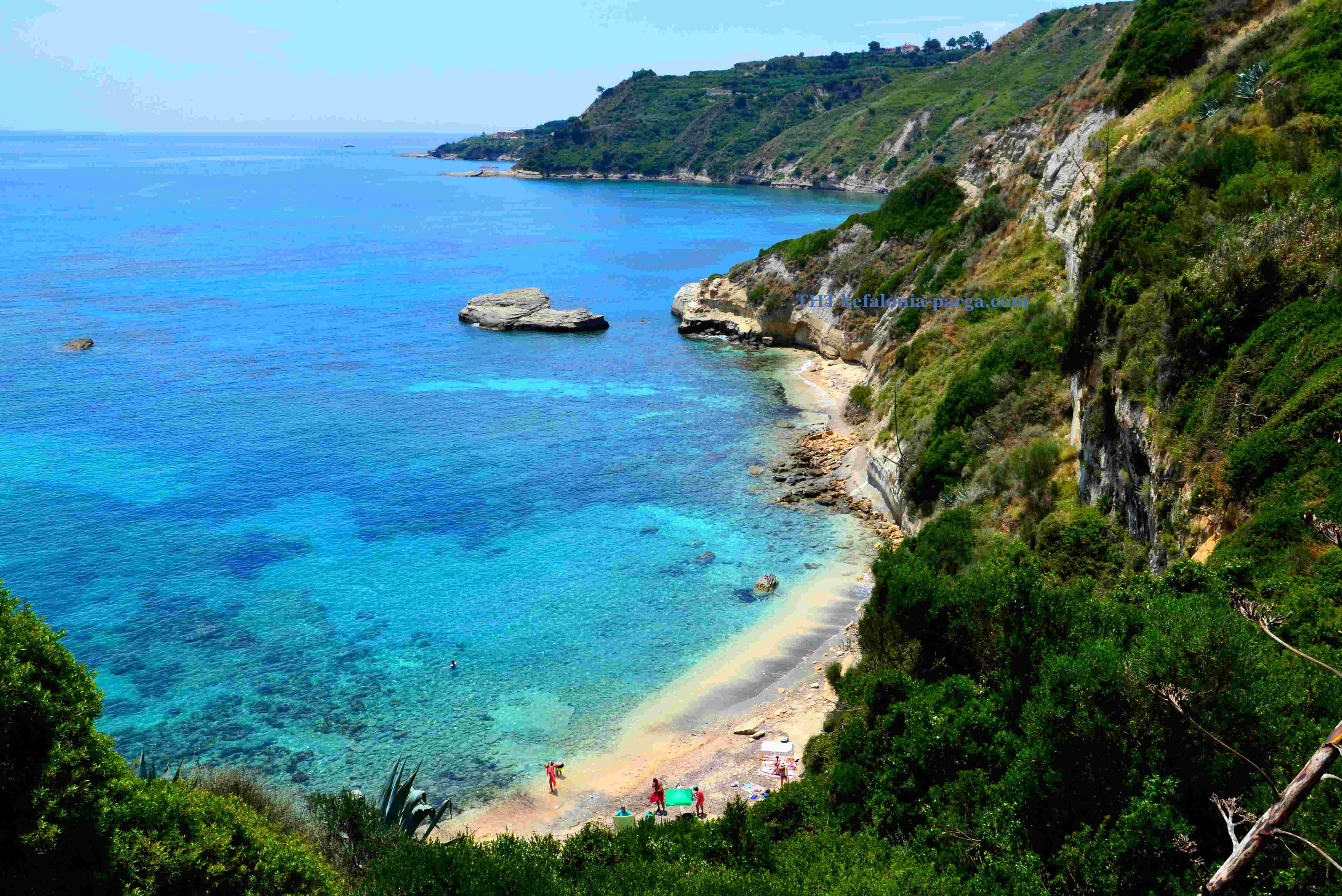 Thermanti beach, Kefaonia, Greece