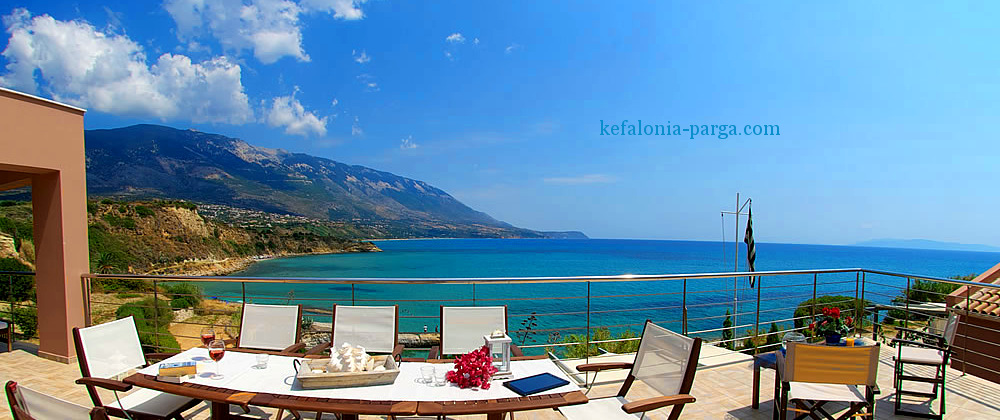 Book the best Kefalonia villas with pool to spend amazing family holidays, vacations with friends or romantic vacations in Greece!