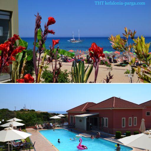 Kefalonia holiday 2020: spacious 1 bedroom apartments near Pessada. Greece vacations.