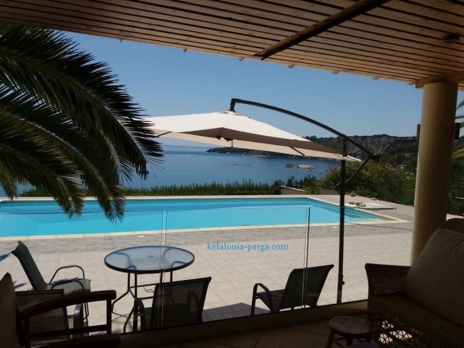 Лучшие виллы Кефалонии с бассейном. Греция отдых с детьми